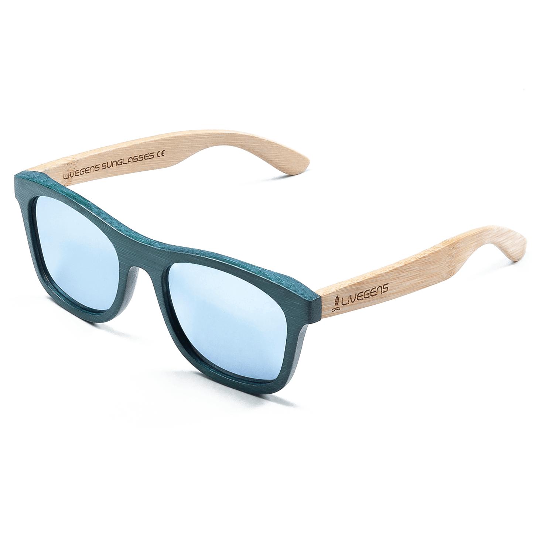 Gafas de madera de bambú