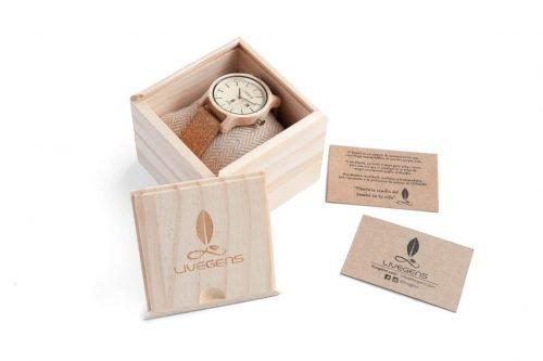 relojes de madera Livegens