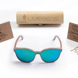 gafas de madera bambu Livegens