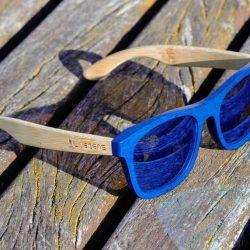 gafas de madera bambú Livegens