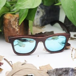 gafas de sol de bambú